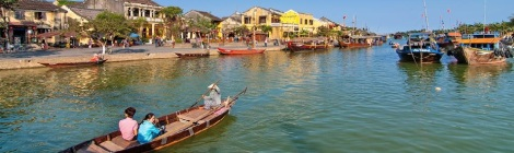 Boat trip in Hoi An Town