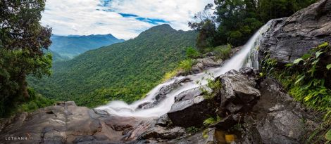 Do Quyen Waterfall at Bach Ma National Park
