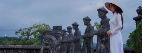 Khai Dinh tomb, Hue city, Vietnam