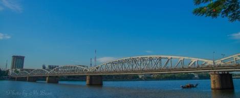 Truong Tien Bridge, Hue city, Vietnam