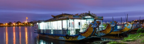 Dinner Cruise on Perfume River, Hue city