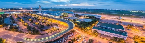 Tan Son Nhat Airport, Saigon, Vietnam