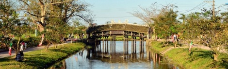 Thanh Toan Bridge-Hue city-Vietnam