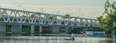 Good Morning Hue on Perfume River - Hue Photo Tour